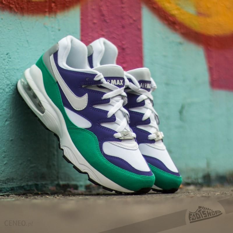 Nike Air Max 94 Court Purple White Emerald Green Wolf Grey Ceny i opinie Ceneo.pl