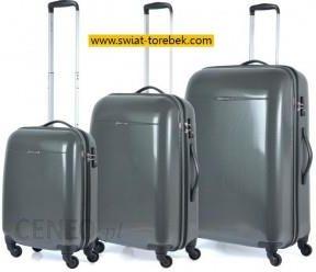 e0a99ba47e1c2 Komplet walizek PUCCINI kolekcja PC005 Voyager zestaw duża + średnia + mała/  kabinowa 4 koła