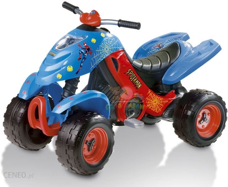 Smoby quad xbee spiderman 33026 ceny i opinie - Quad spiderman ...