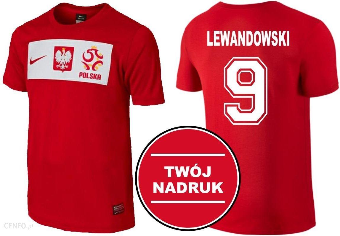 aed1bf69a Koszulka Nike Reprezentacji Polski Lewandowski - Ceny i opinie ...