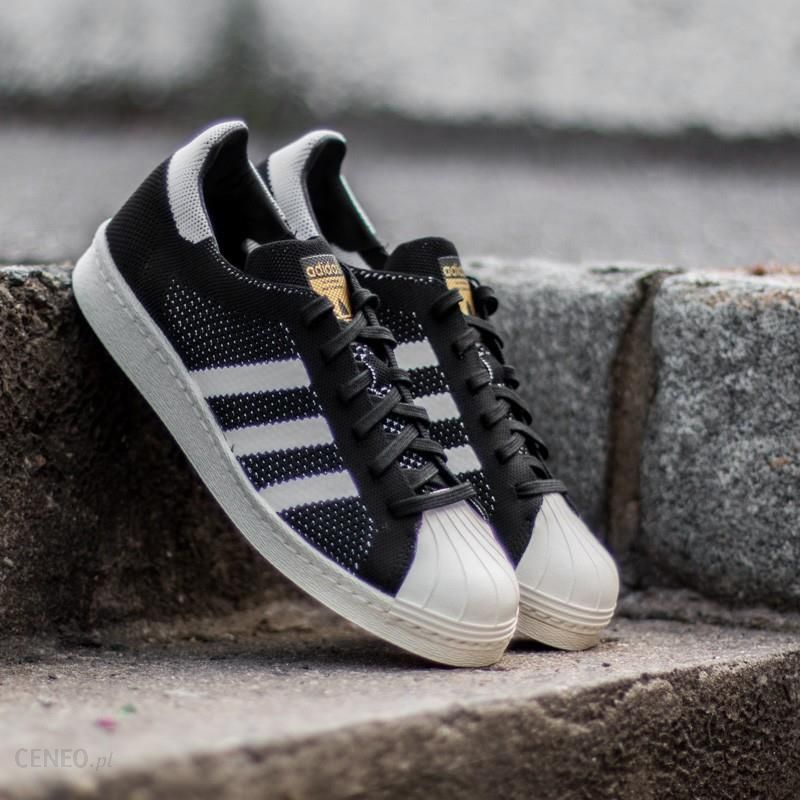Adidas Superstar 80s Primeknit Core Black Ftw White Gold Metal Ceny i opinie Ceneo.pl