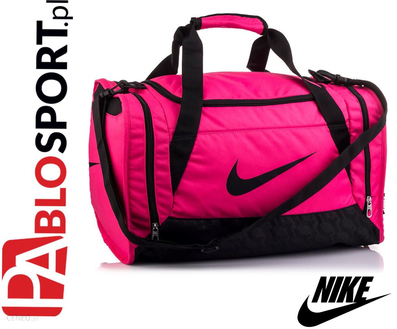 wykwintny design najnowszy sprzedaż obuwia TORBA NIKE BRASILIA 6 SMALL DUFFEL różowa /BA4910 606