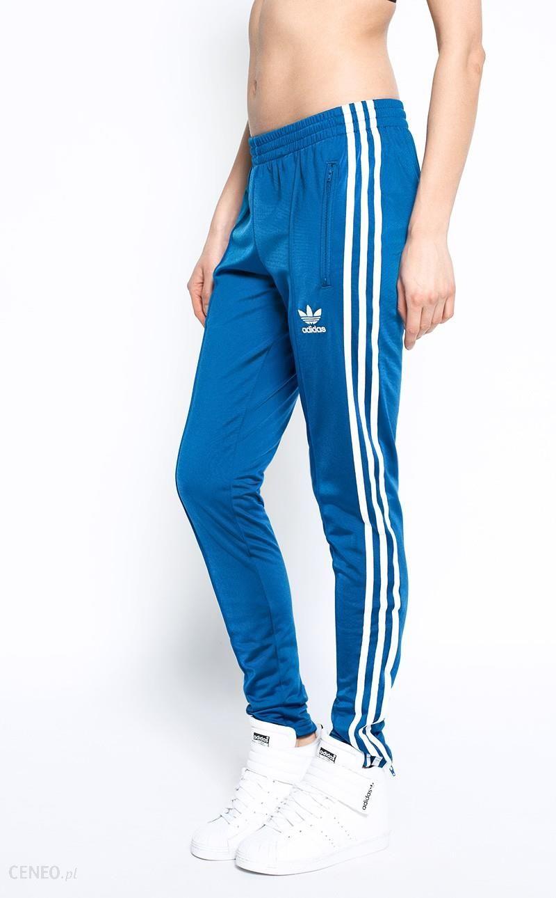 adidas Originals Spodnie Spodnie damskie granatowe w