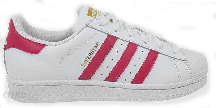 buty adidas superstar w różowe