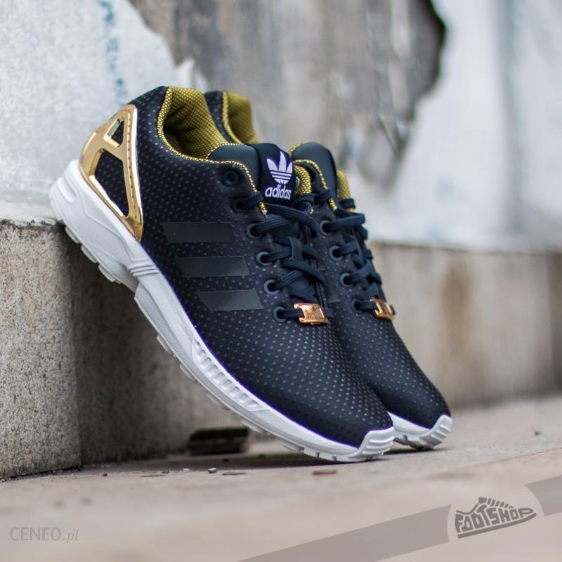 buty damskie adidas zx flux gold