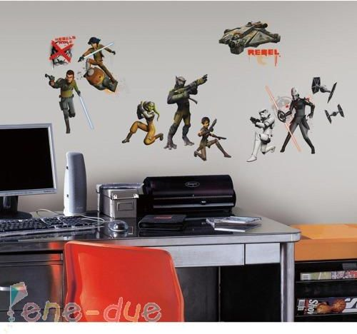 Roommates Naklejki Na Sciane Star Wars Rebels Rmk2622scs Ceny I