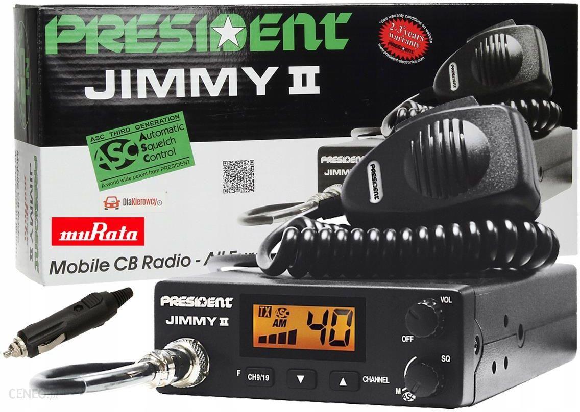 CB radijo prezidentas Jimmy II