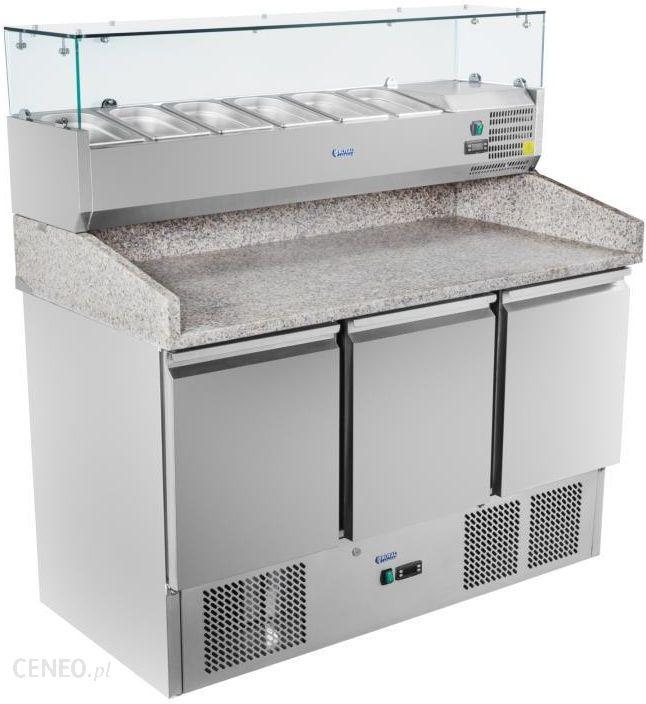 Inteligentny Urządzenie chłodnicze Stół chłodniczy do pizzy 3 drzwiowy z RE88