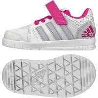Adidas LK TRAINER 5 K. Buty damskie biało różowe, rozmiar