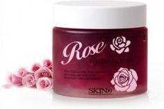 Skin79 Rose Waterfull Mask Różana Maska z Kwasmi Aha na Noc 75ml