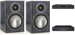 Wieża Cambridge Audio AM10 + CD5 + Monitor Audio Bronze 1 - zdjęcie 1