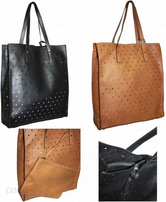 6bb924e7b6ece marettam PRIMARK ATMOSPHERE Shopper Bag A4 Torebka Damska + kosmetyczna -  zdjęcie 1 ...