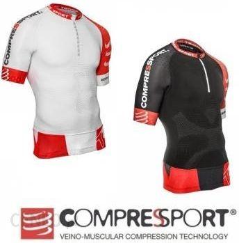 32fc3b5b56f388 Compressport Koszulka Biegowa Trail Shirt V2 Czarny - Ceny i opinie ...