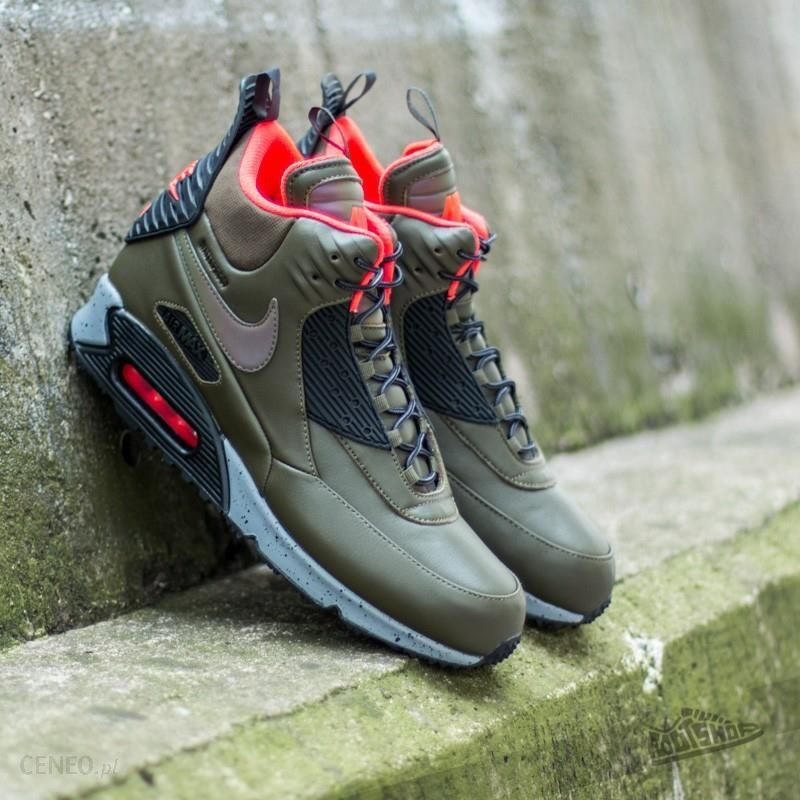 Nike Air Max 90 Sneakerboot Winter Dark Loden Black Bright Crimson Ceny i opinie Ceneo.pl