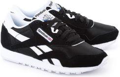 b02a1dc835461 REEBOK CL Nylon - Czarne Nylonowe Sportowe Damskie - 6606 - Ceny i ...