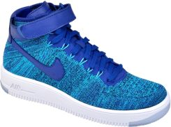 nike air force 1 flyknit low blue lagoon