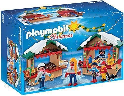 Klocki Playmobil Christmas Na jarmarku bożonarodzeniowym (5587) - zdjęcie 1 ...