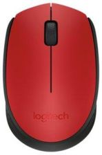 Myszka Logitech M171 Bezprzewodowa Czerwona Używana www