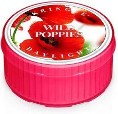 5f088c81448810 Kringle Candle Coloured Daylight Wild Poppies Świeczka Zapachowa Dzikie  Maki 52g