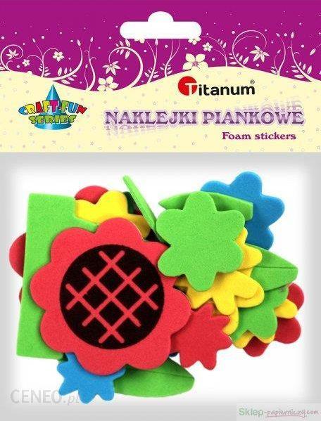 Naklejki Titanum Kwiatki Doniczki 307745