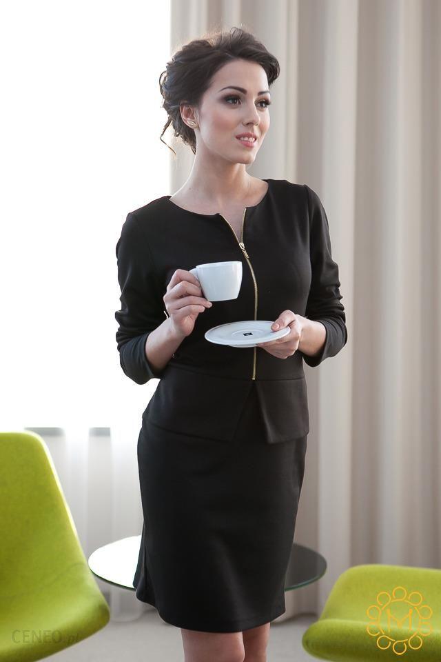 45c42547a1 Sukienka rozpinana czarna - czarny - Ceny i opinie - Ceneo.pl