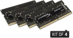 Kingston HyperX Impact 16GB (4x4GB) DDR4 2133MHz CL14 (HX421S14IBK416)