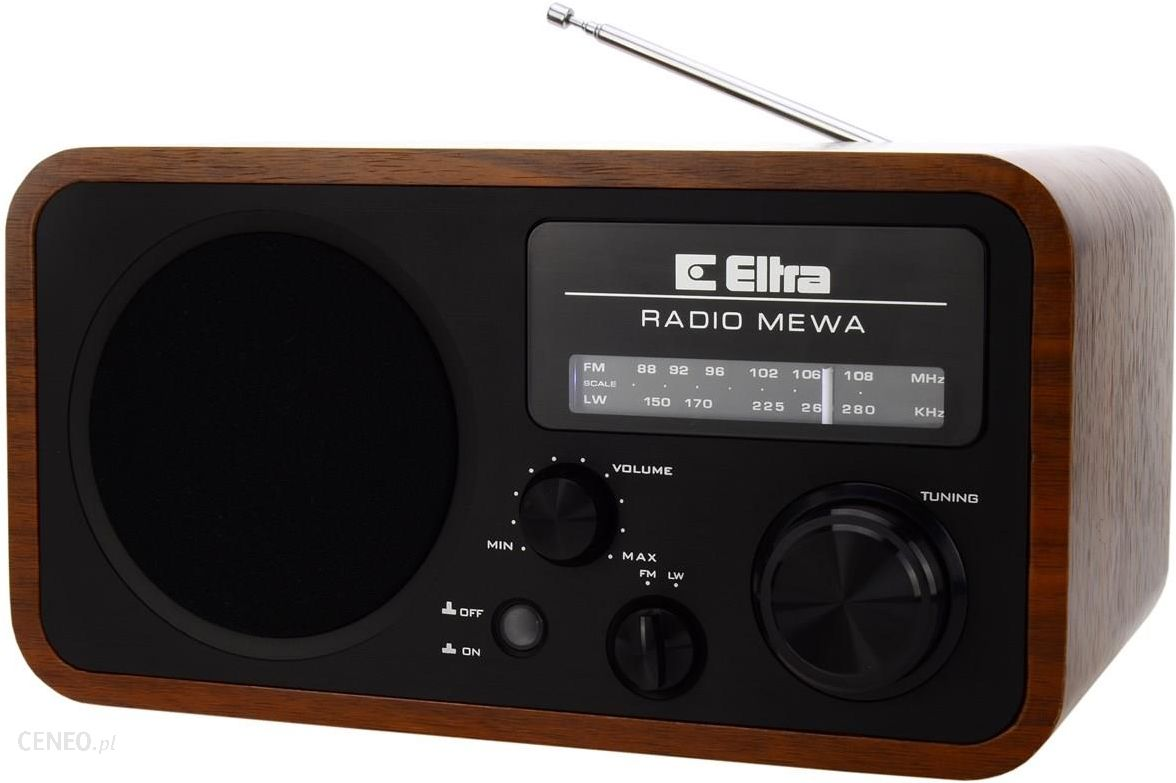 Radio Eltra Mewa czarny