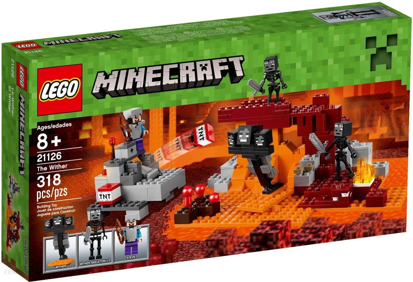 408582307 Lego Minecraft Otchłanie Wither 21126