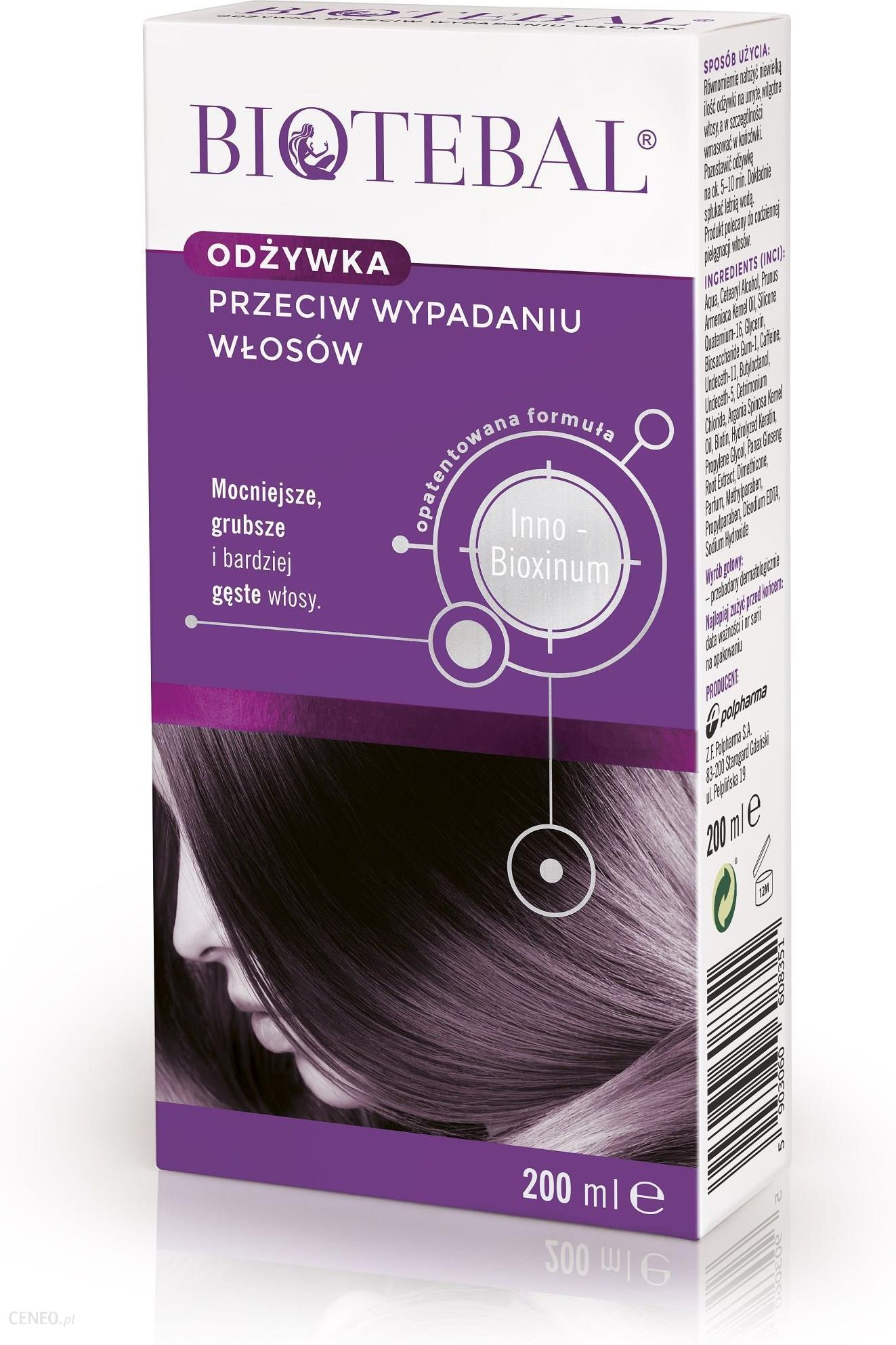 tabletki na wypadanie włosów biotebal opinie