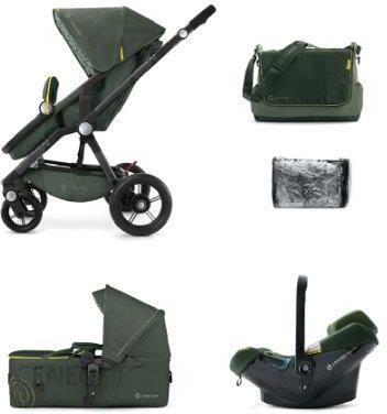 w zek concord wanderer jungle green g boko spacerowy air safe ceny i opinie. Black Bedroom Furniture Sets. Home Design Ideas