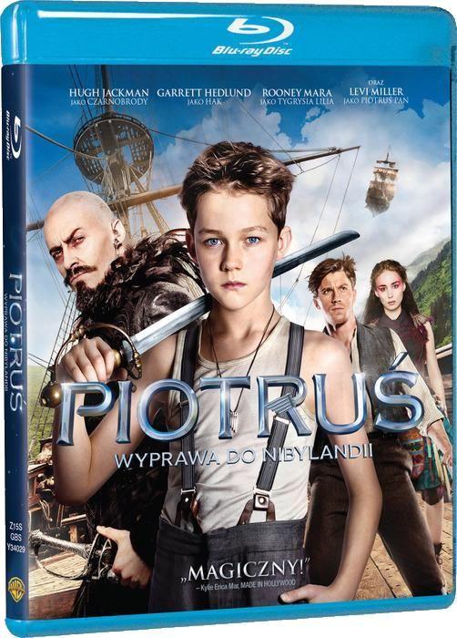 Piotruś. Wyprawa Do Nibylandii (Blu-Ray)