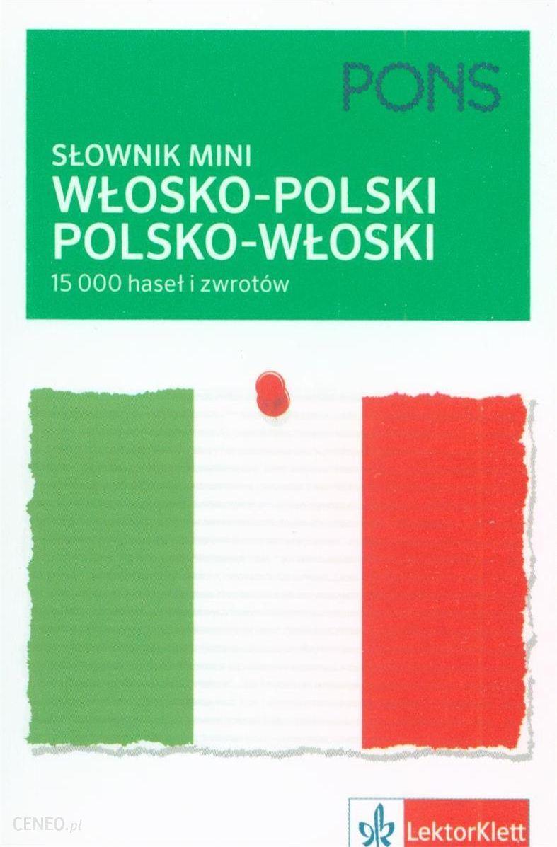 Nauka włoskiego Słownik włosko polski, polsko - zdjęcie 1