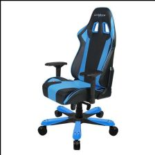 DXRacer King Gaming Chair - Black/Blue OHKS06NB