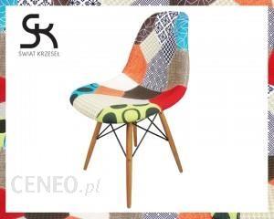 Świat Krzeseł Krzesło Tapicerowane KR012DPATCHWORK2