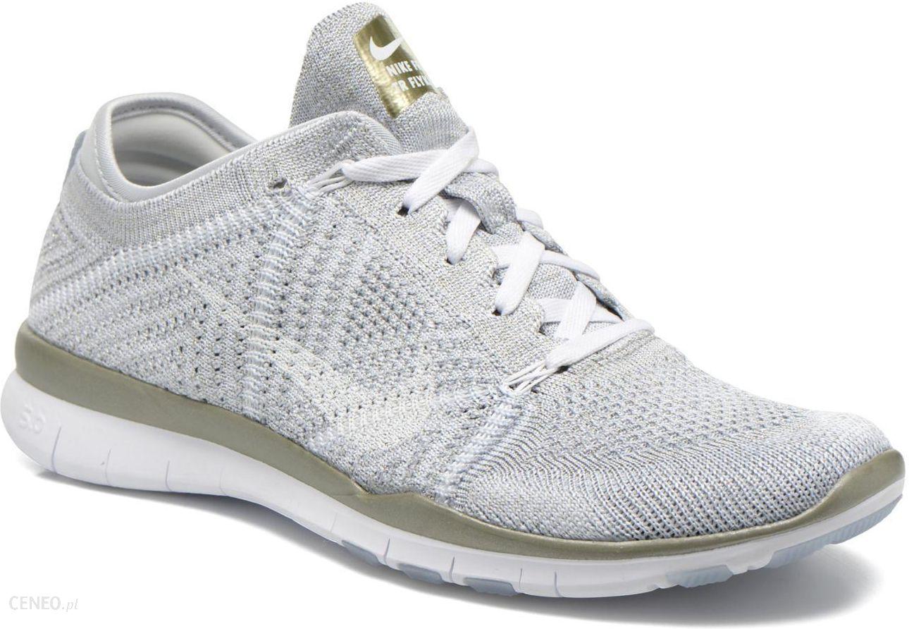 Nike Damskie   Wmns Free Tr 6 Mtlc Srebrny