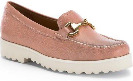 Mokasyny damskie Lacoste buty żółte Półbuty skóra Ceny i