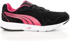 buty damskie puma czarno różowe