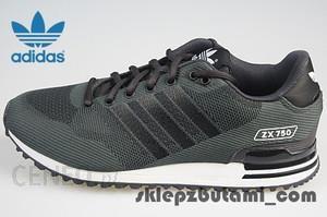 adidas ZX 750 Wv S79195 | Czarny, Szary ⋆ ButyMarkowe.pl