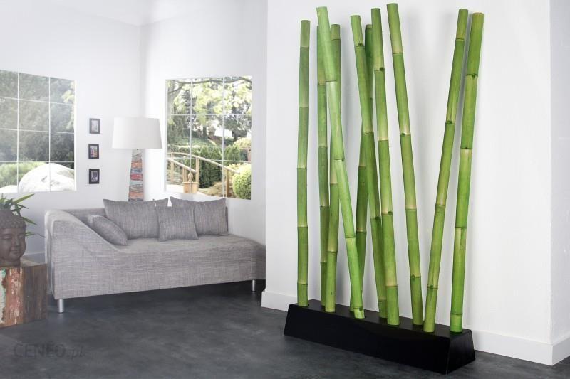 Invicta interior parawan ozdobny bambus zielony 22605 zdj cie 1 - Trennwand bambus ...