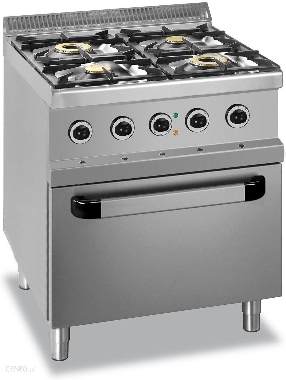Mbm Kuchnia Gazowa 4 Palnikowa Z Piekarnikiem Elektrycznym