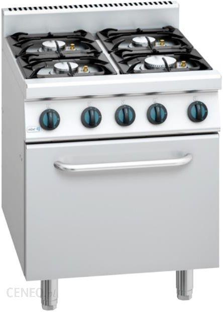 Kuchnia Gazowa 4 Palnikowa Z Piekarnikiem Elektrycznym Propan Butan 700x775x850 Mm Asber Block Cook 700