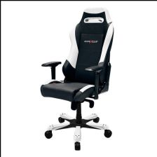 Dxracer IRON Gaming Chair Black White OHIS11NW