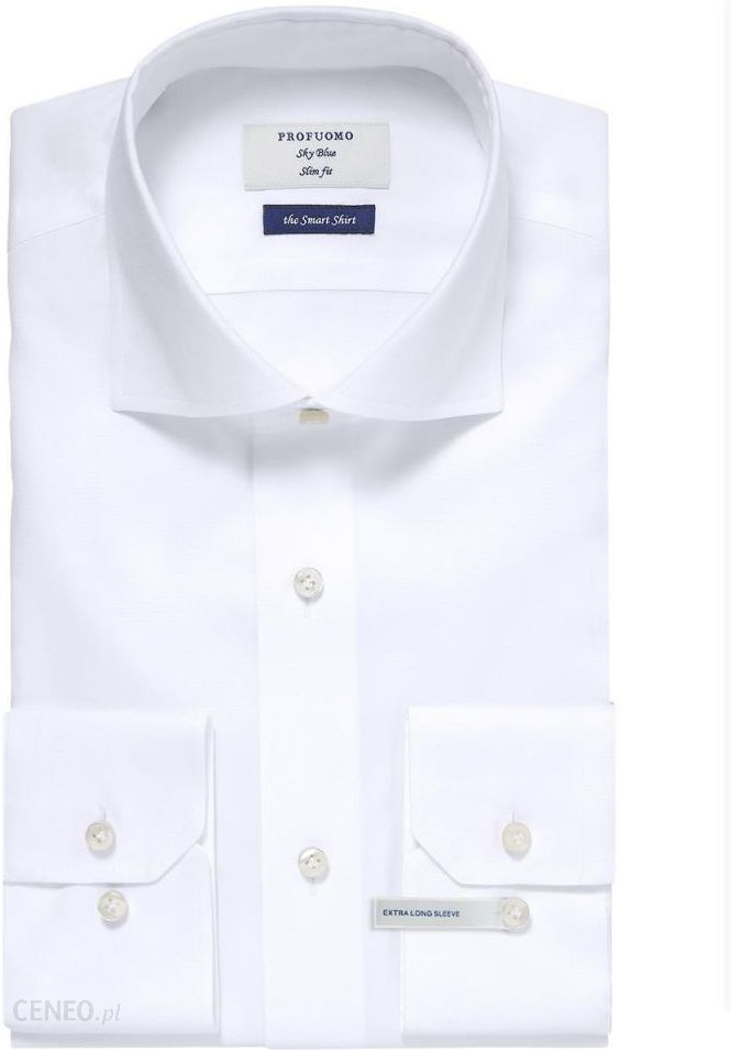 Elegancka biała koszula męska Profuomo Smart Shirt Ceny i  eXQa0