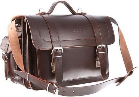 aae098119bd3e Klasyczna teczka   plecak Vintage P12 Cognac - Ceny i opinie - Ceneo.pl