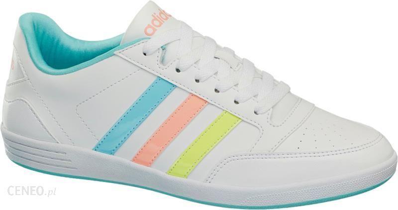 074a630c3eb9 Buty damskie Adidas Vl Hoops Low - Ceny i opinie - Ceneo.pl