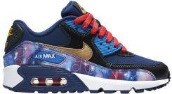Nike Air Max 90 PREM LTR GS 724879 004 | Czerwony, Niebieski
