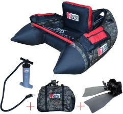 Zestaw float tube NRV camo