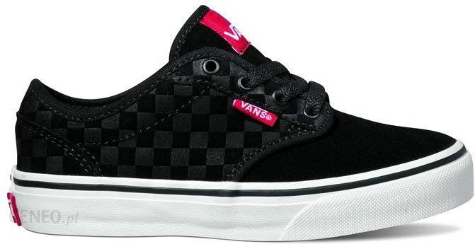Vans Y Atwood (Suede Checkers) Black 30.5