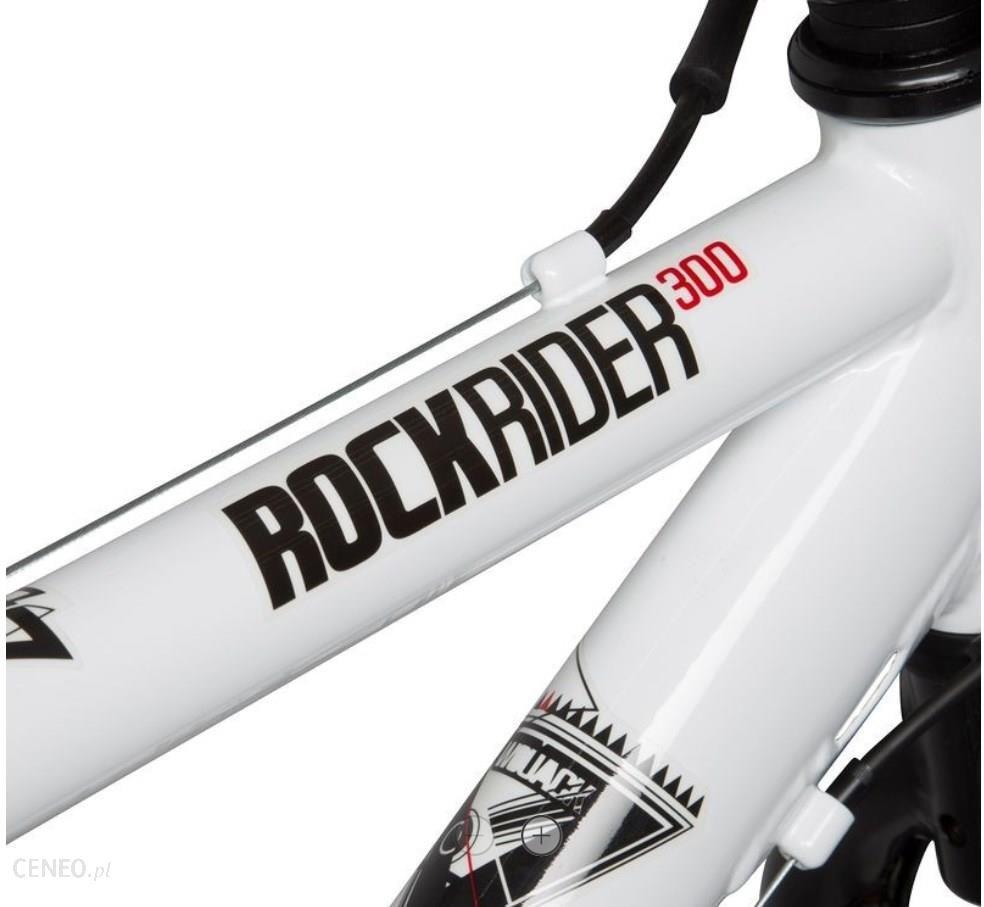 13550041d ... Rower Decathlon B'Twin Rockrider 300 (100) Biały - zdjęcie 8