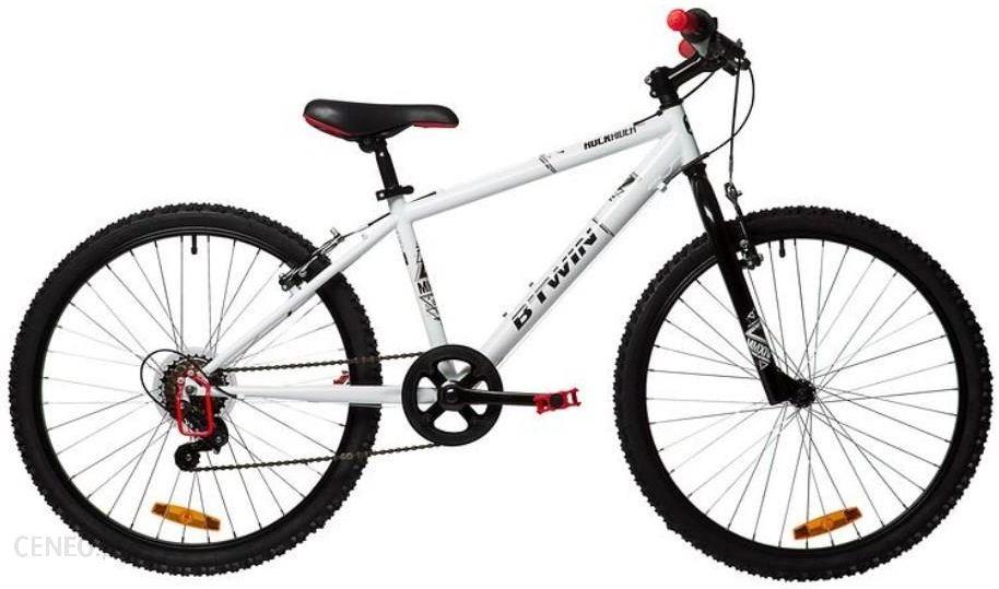 751ca55c3 Rower Decathlon B'Twin Rockrider 300 (100) Biały - zdjęcie 1 ...